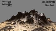 montagna 3d model