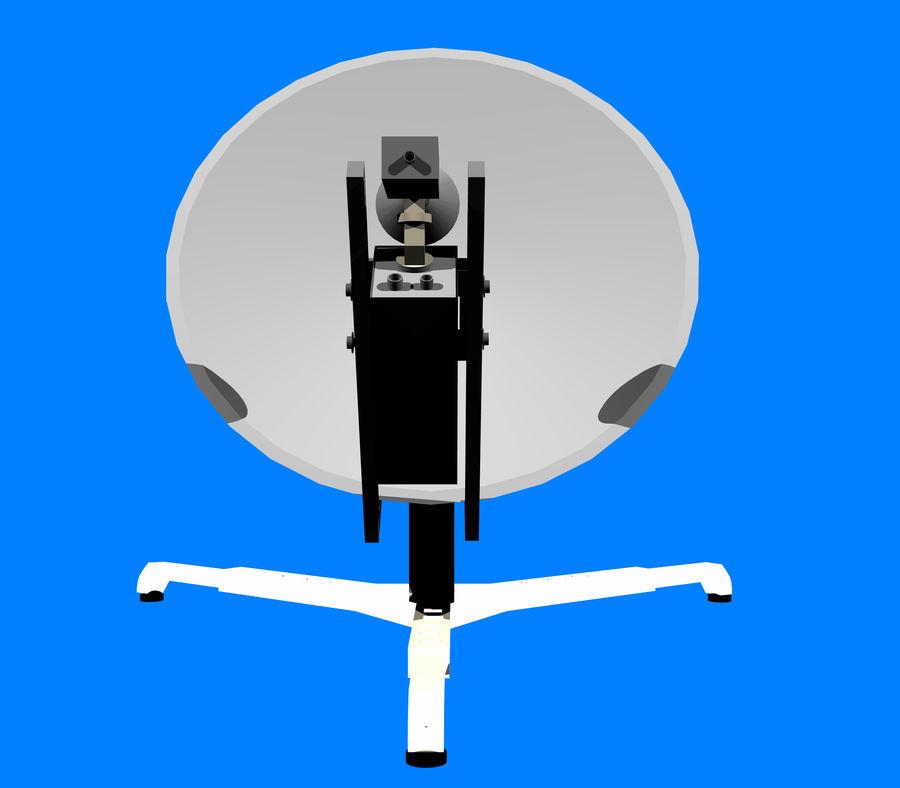 VSAT Assembly 3D Model royalty-free 3d model - Preview no. 3