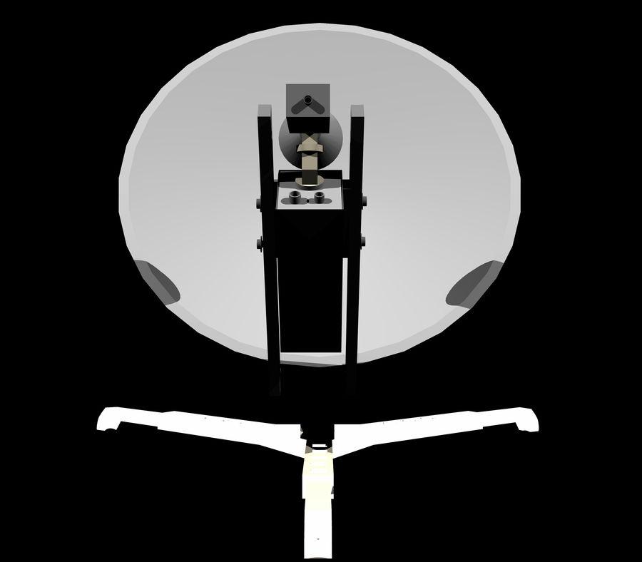 VSAT Assembly 3D Model royalty-free 3d model - Preview no. 5