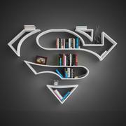 Étagères Superman 3d model