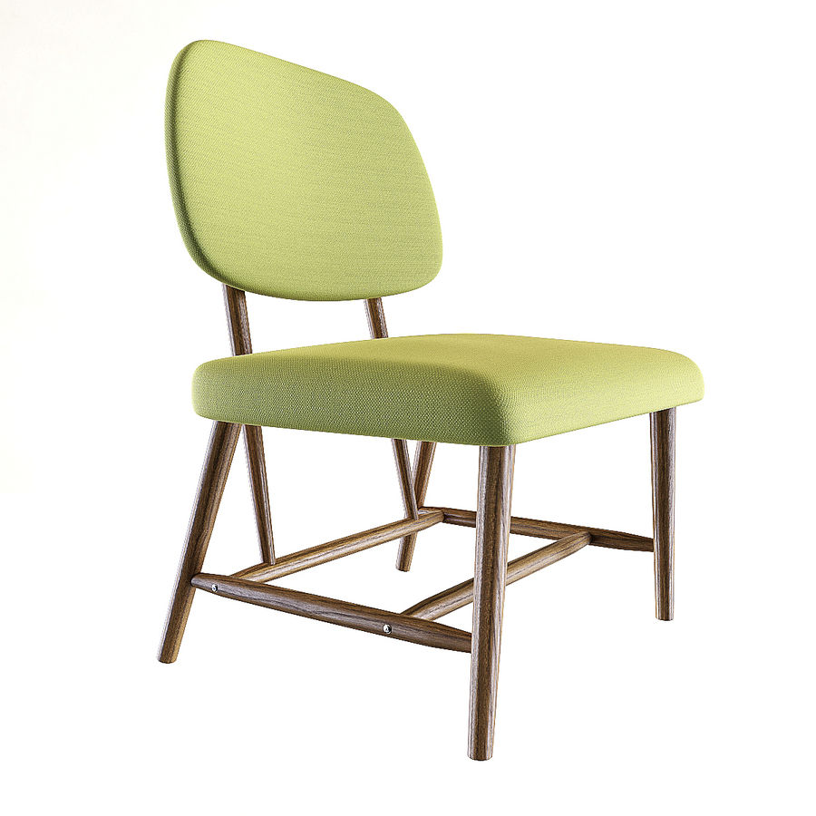 Chair 1 royalty-free 3d model - Preview no. 5
