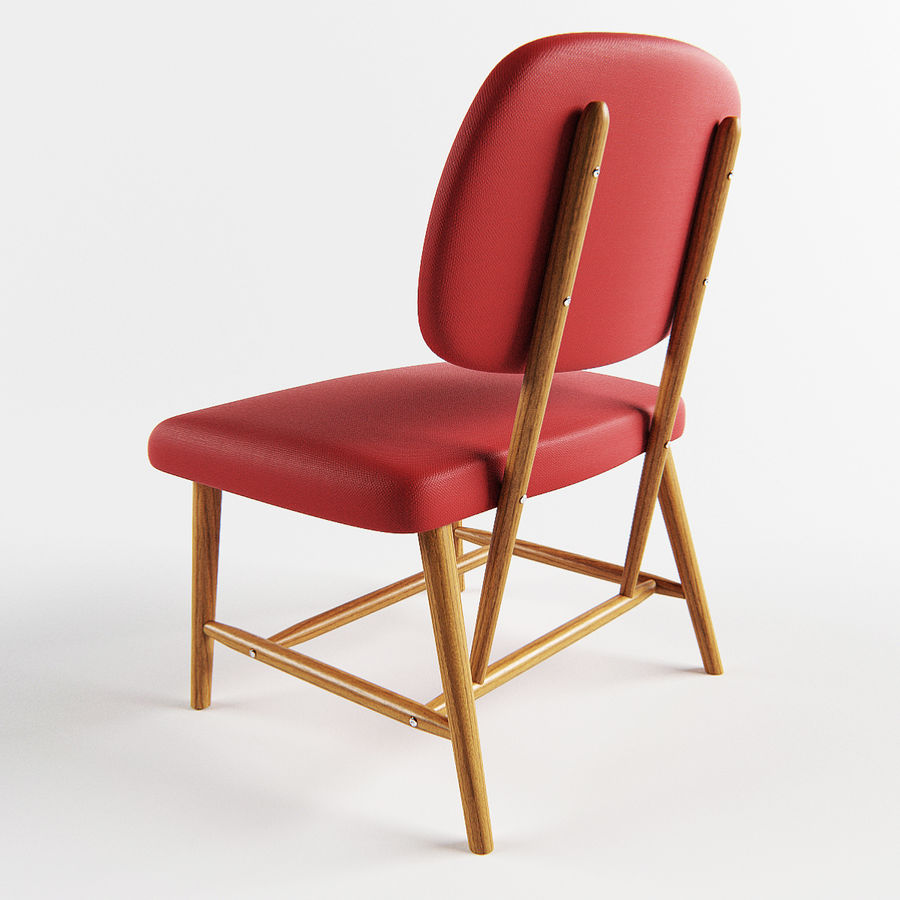 Chair 1 royalty-free 3d model - Preview no. 4