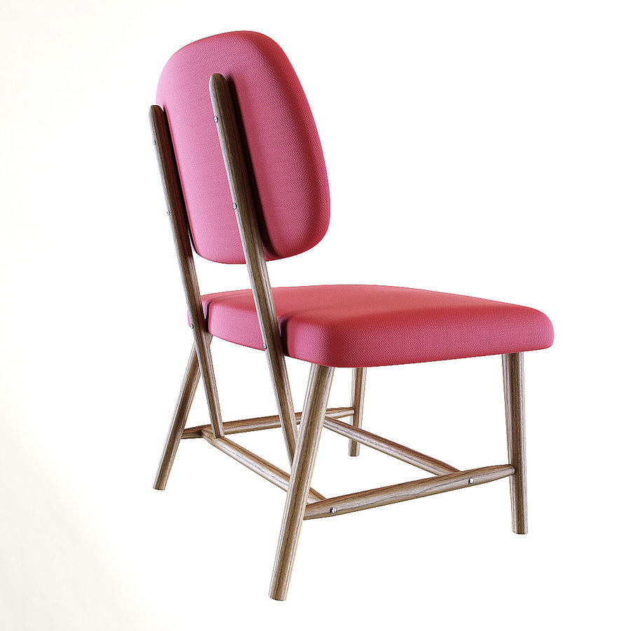 Chair 1 royalty-free 3d model - Preview no. 1