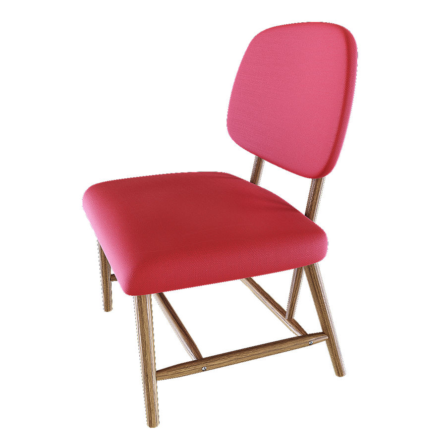 Chair 1 royalty-free 3d model - Preview no. 6