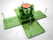 Anti-Hubschrauber-Bombe 3d model