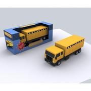 Veículo de construção de caminhão 3d model