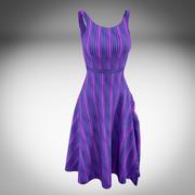 Womens Dress 3d model
