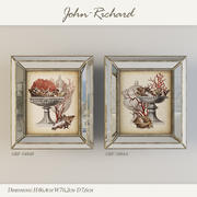 Paintings John Richard 3d model