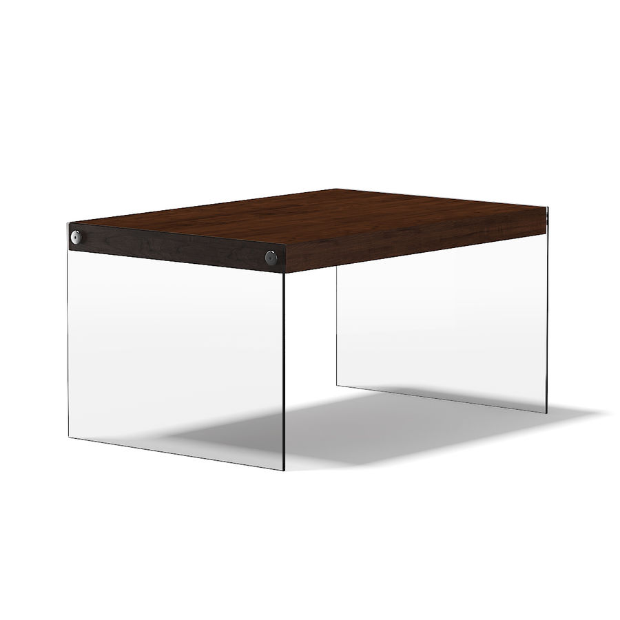 Wooden Coffee Table With Glass Sides 3d Model 18 Max Obj Ma Unknown Fbx C4d Free3d