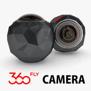 360Fly Camera 3d model