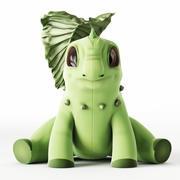 Pokemon Chikorita 3d model