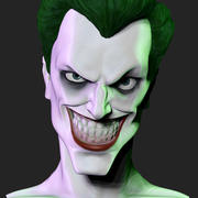 Joker Bust 3d model