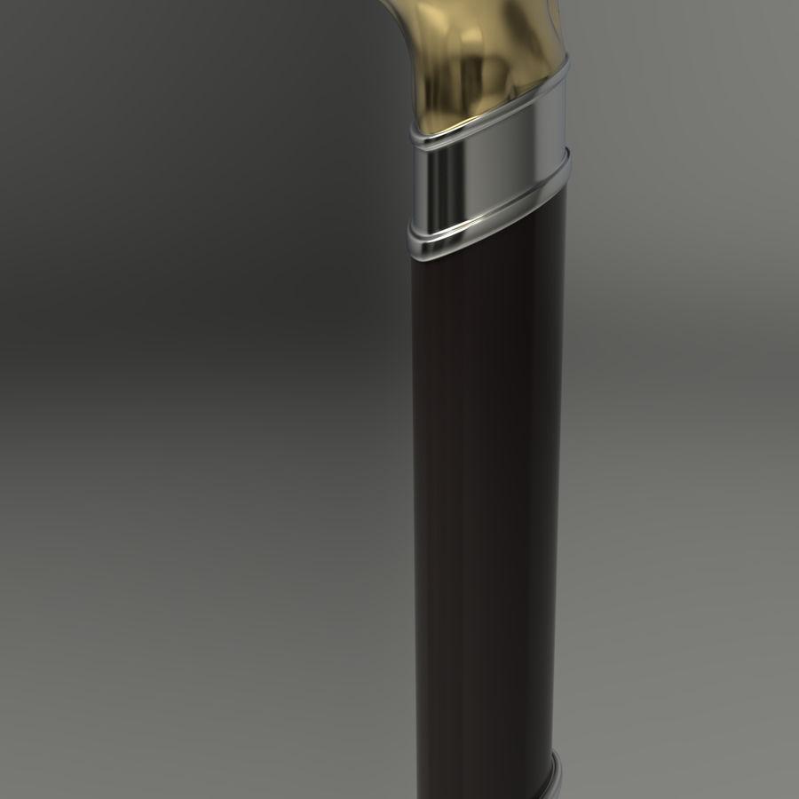 Baston köpek kafası royalty-free 3d model - Preview no. 4
