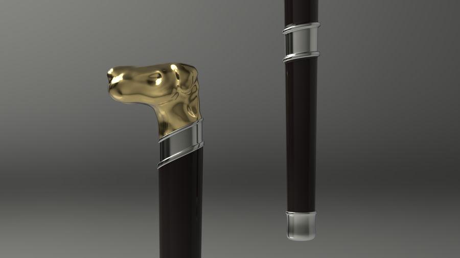 Baston köpek kafası royalty-free 3d model - Preview no. 1