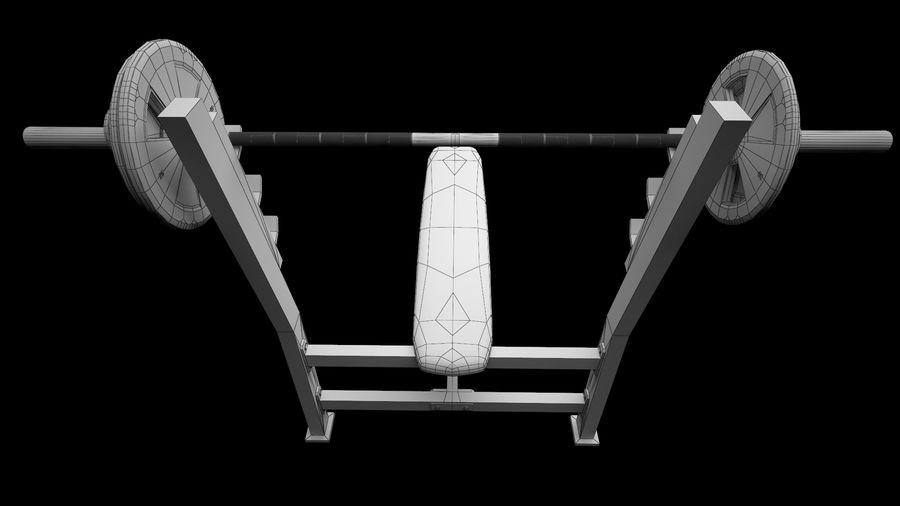 equipaggiamento da palestra royalty-free 3d model - Preview no. 11