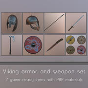 Viking Weapons and Armor 3d model