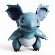 Pokemon Nidorina 3d model