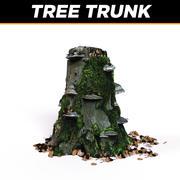 树干 3d model