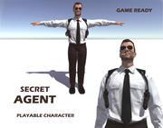 Agente segreto poliziotto 3d model