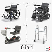 Mobility Aids Collection 3 3d model