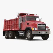 Dump Truck Mack 3d model
