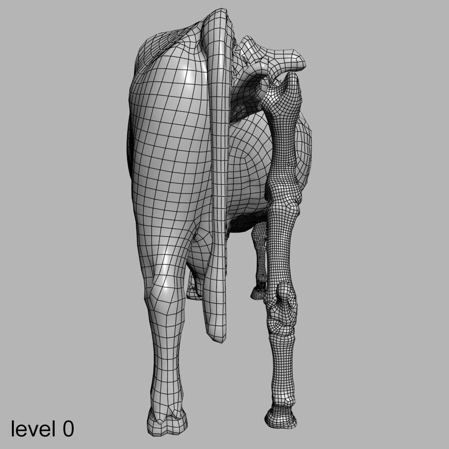 Anatomie de la vache royalty-free 3d model - Preview no. 32