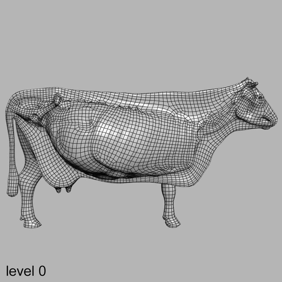 Anatomie de la vache royalty-free 3d model - Preview no. 33