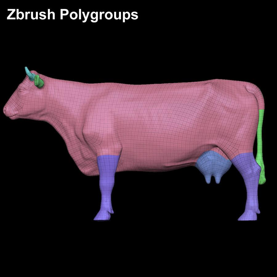 Anatomie de la vache royalty-free 3d model - Preview no. 26