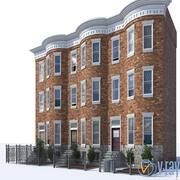 都市_建物 3d model