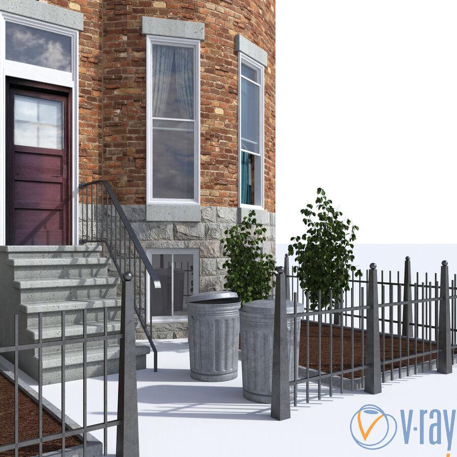 都市_建物 royalty-free 3d model - Preview no. 5