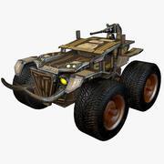 Combat Monster Truck 3d model