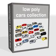 Colección de coches modelo 3d