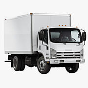 2020 Isuzu NPR Gas 3d model