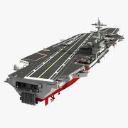 Portaaviones CVN 77 modelo 3d