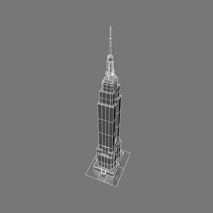 高层建筑 royalty-free 3d model - Preview no. 35