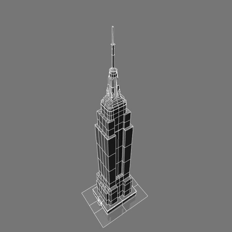 高层建筑 royalty-free 3d model - Preview no. 37