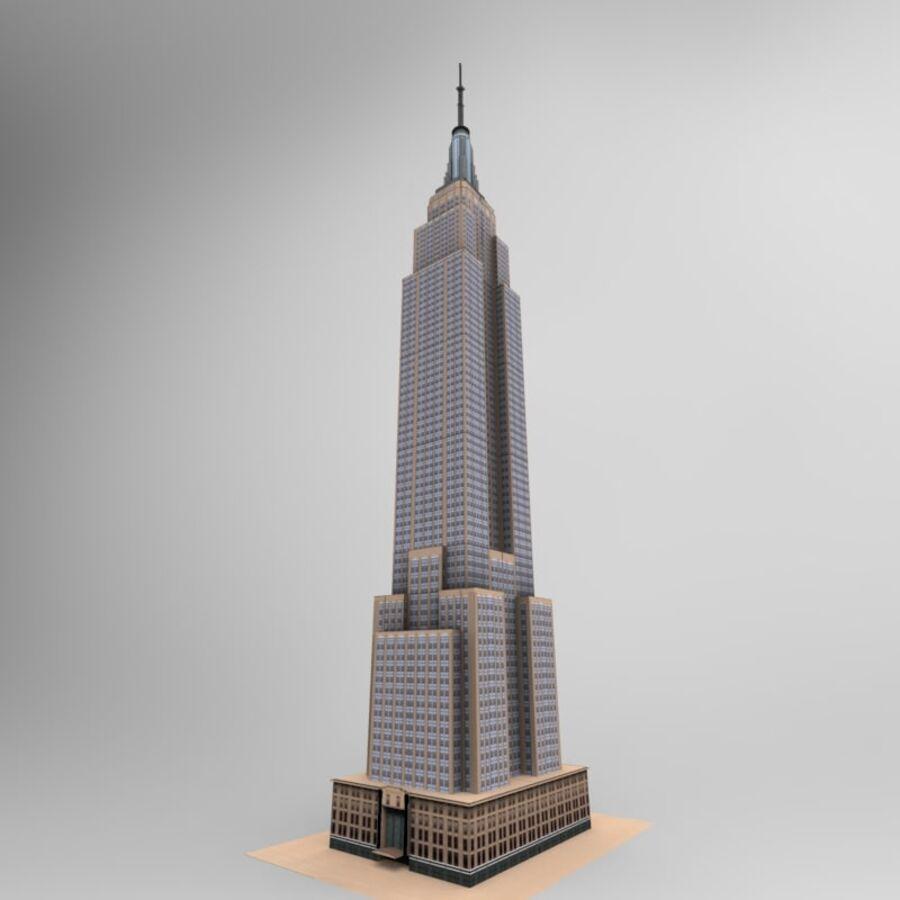 高层建筑 royalty-free 3d model - Preview no. 27