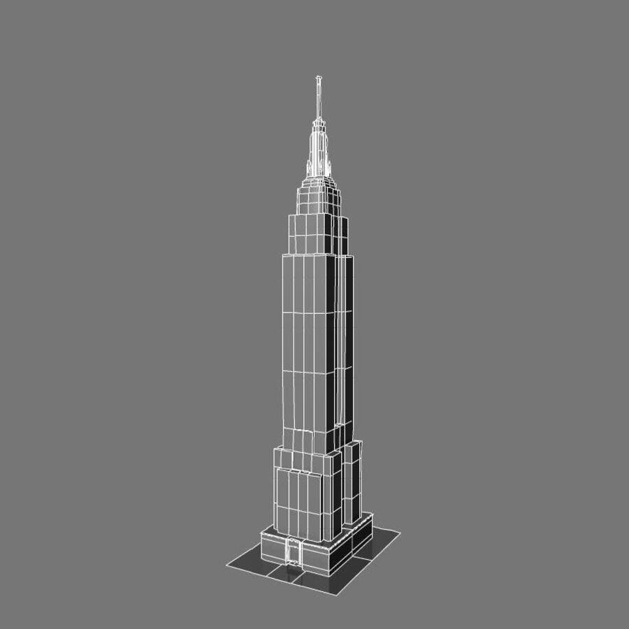 高层建筑 royalty-free 3d model - Preview no. 34