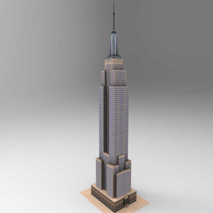 高层建筑 royalty-free 3d model - Preview no. 14