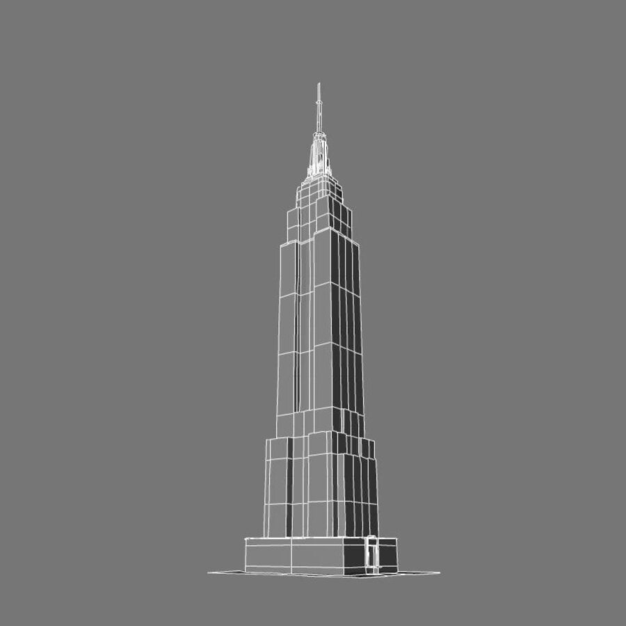 高层建筑 royalty-free 3d model - Preview no. 33