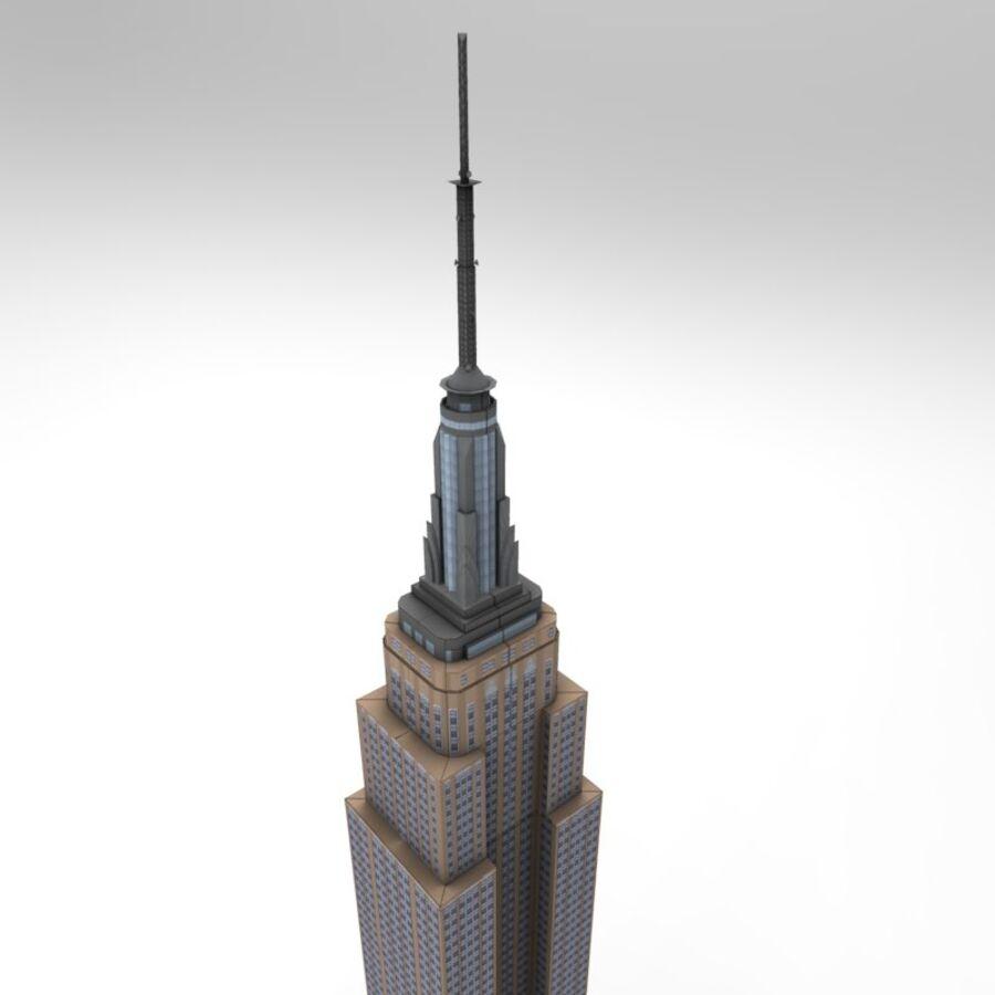 高层建筑 royalty-free 3d model - Preview no. 7