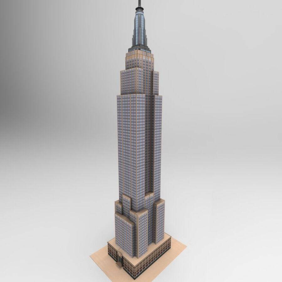 高层建筑 royalty-free 3d model - Preview no. 25