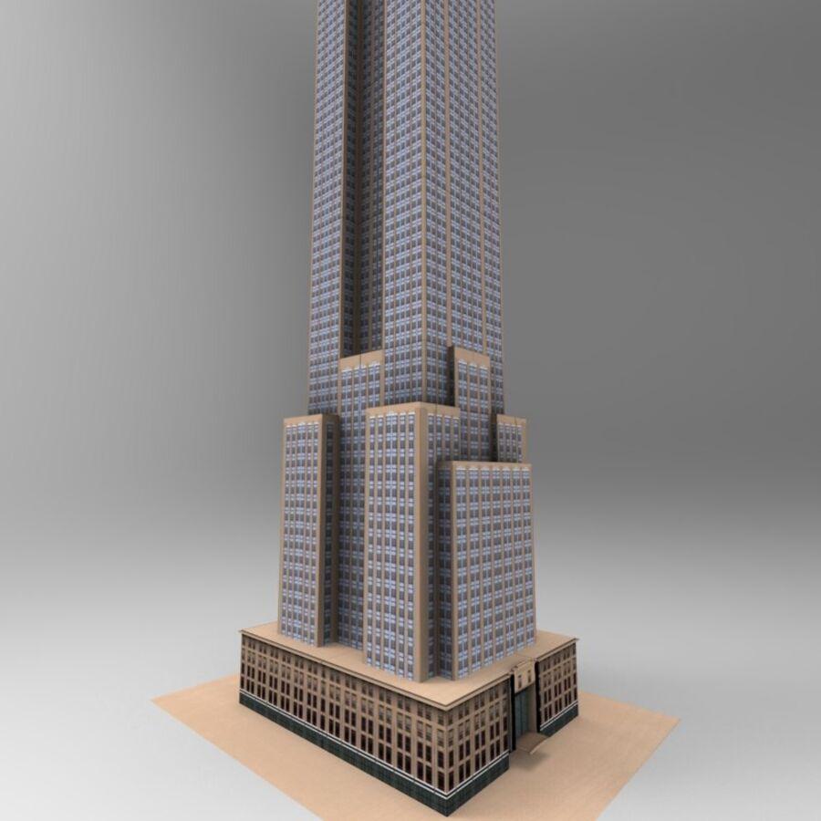 高层建筑 royalty-free 3d model - Preview no. 20
