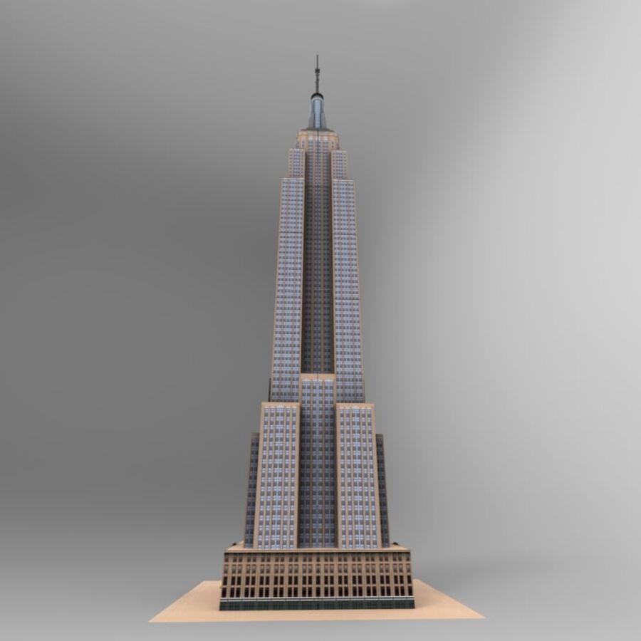 高层建筑 royalty-free 3d model - Preview no. 23