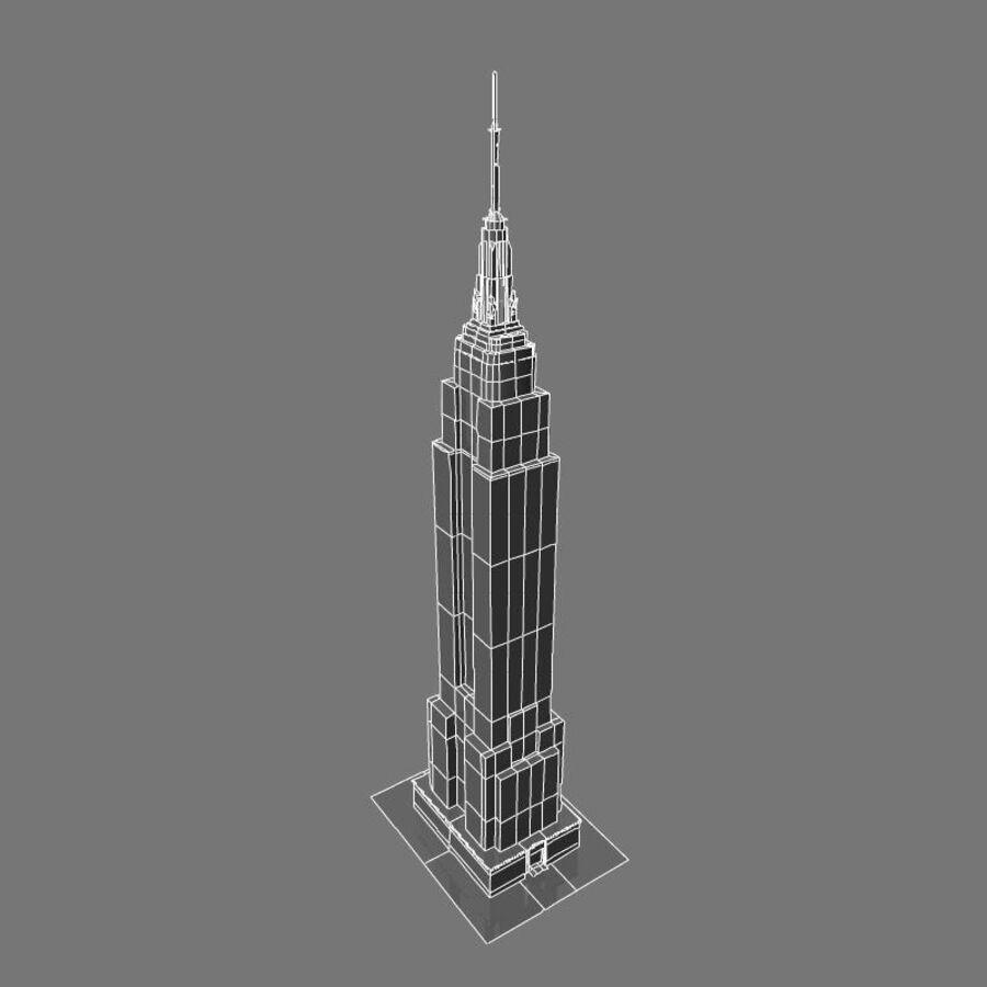 高层建筑 royalty-free 3d model - Preview no. 29
