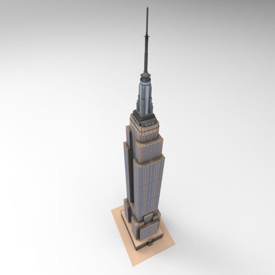 高层建筑 royalty-free 3d model - Preview no. 16