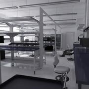 Scientifically Research Laboratory 3d model