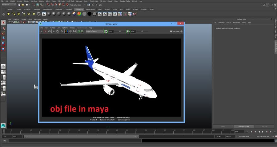 Airbus A320 royalty-free 3d model - Preview no. 41