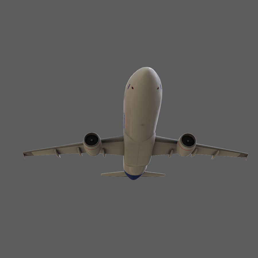 Airbus A320 royalty-free 3d model - Preview no. 18