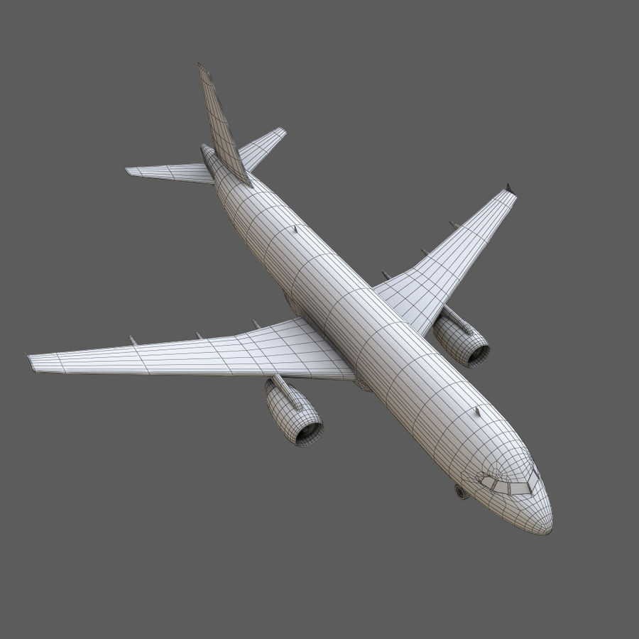 Airbus A320 royalty-free 3d model - Preview no. 32
